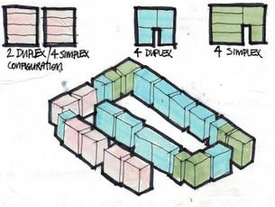 Apartment analysis sketch