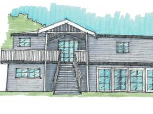 Pomona Community Hall sketch