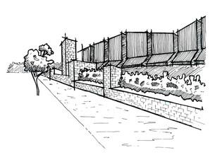 King Street sketch