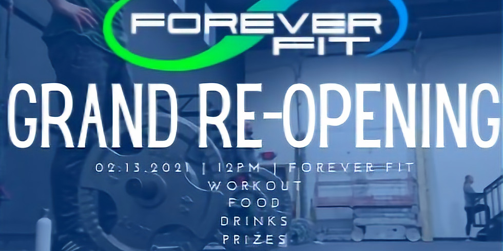 Forever Fit Grand Re-Opening