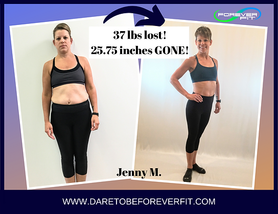 Jenny Maves - Overall before and afters