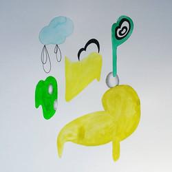 #abstract #painting #drawing #contemporaryart #mixedmedia