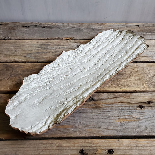 Stoneware bark tray