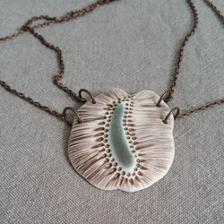 Seed necklace now in my Etsy shop