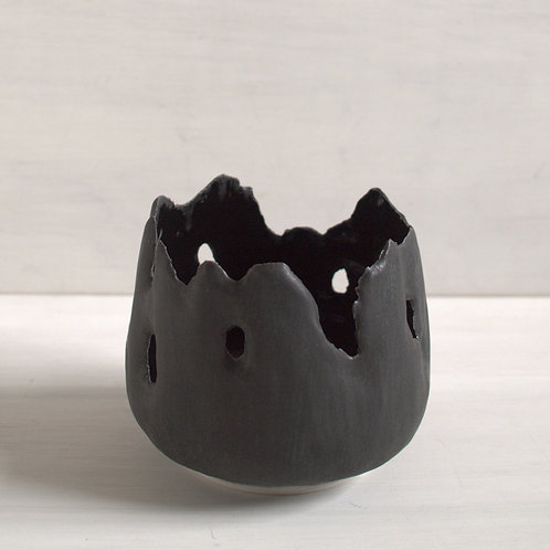 Charred Remains Votive Holder