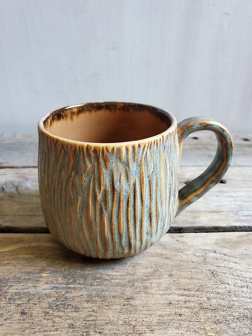 Gilled mug