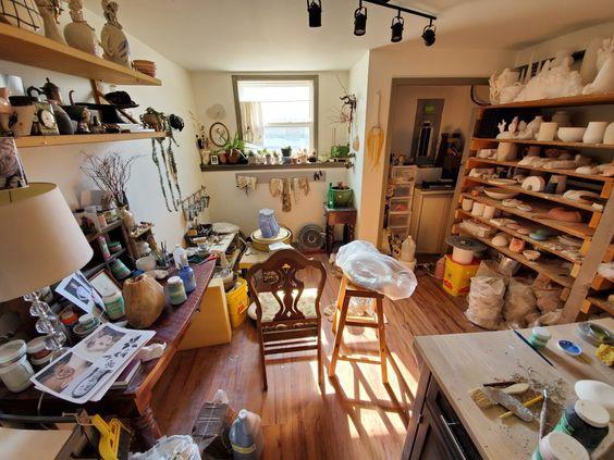 My tiny studio!