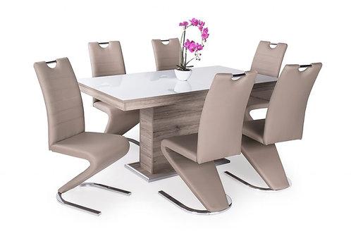 Flóra Plusz Asztal + Lord Szék