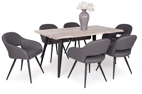Tina Asztal + Cristal Szék