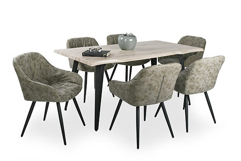 Tina Asztal + Monaco Szék