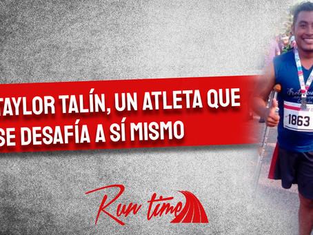 Taylor Talín, un atleta que se desafía a sí mismo