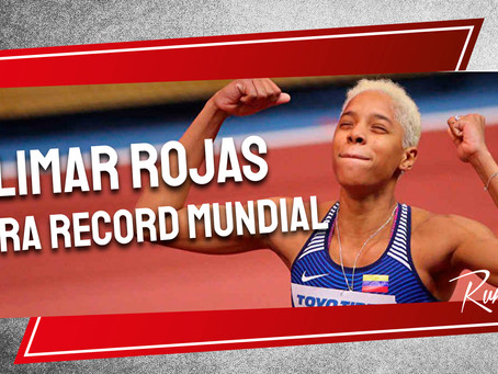 Yulimar Rojas supera record mundial con 15,43 metros