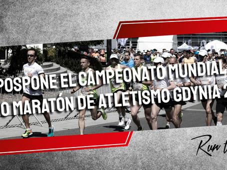 Se pospone el Campeonato Mundial de Medio Maratón de Atletismo Gdynia 2020
