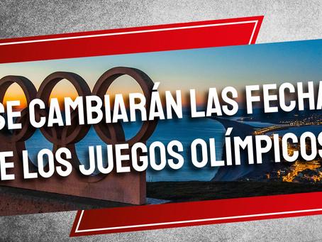 ¿Se cambiarán las fechas de los Juegos Olímpicos?