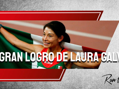 Laura Galván logra récord de milla en pista