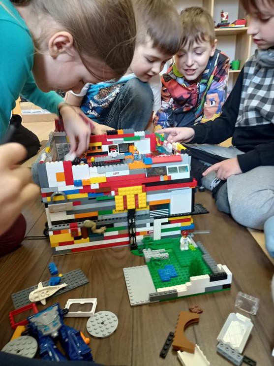 Koło klocka LEGO