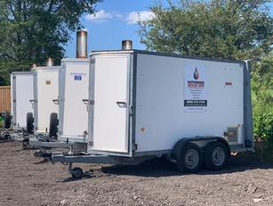 500 kW Mobile Boiler