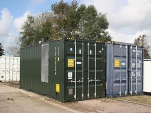 2000 kW Temporary Boiler