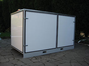 100 kW temporary boiler for emergency hot water