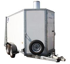 300 kw mobile boiler for emergency boiler hire