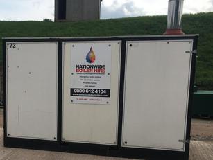 300 kW Temporary Boiler