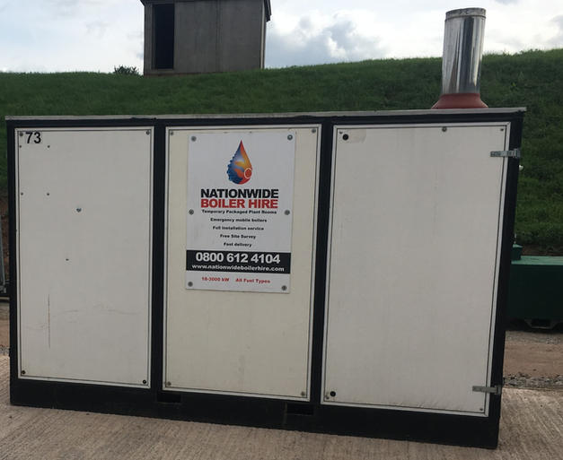 300 kW Temporary Boiler