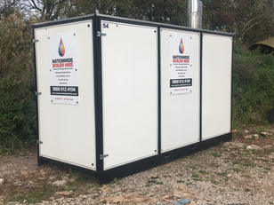 650 kW Temporary Boiler