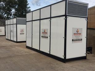 1200 kW temporary boiler