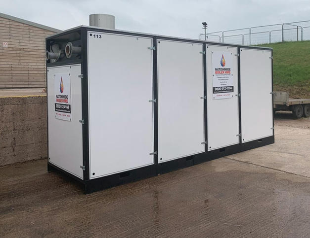 1000 kW Temporary Boiler