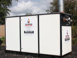 500 kW Temporary Boiler