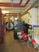 Temporary plant room