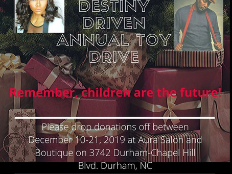 Destiny Driven Toy Drive