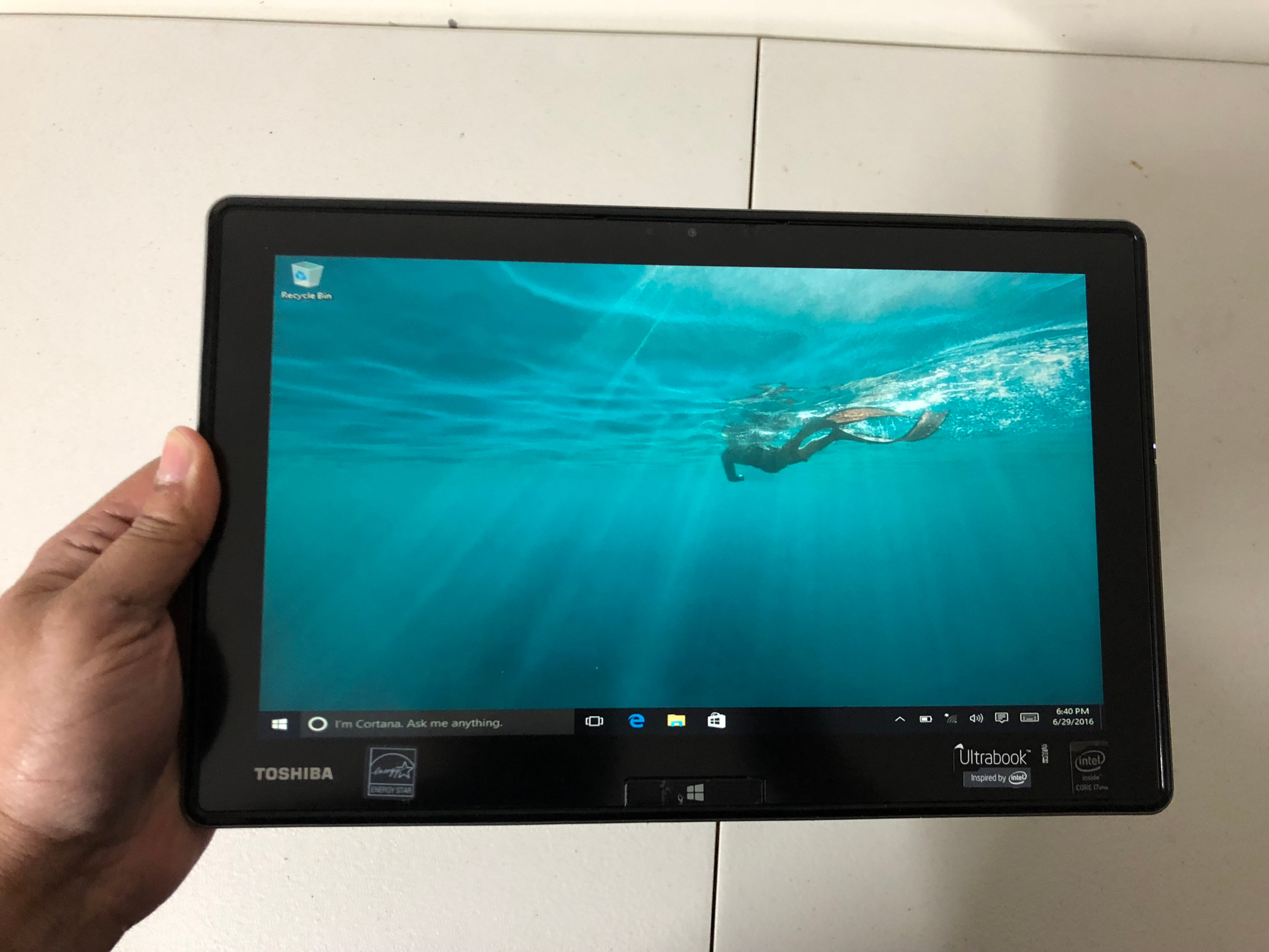 TOSHIBA TABLET LAPTOP i7/8gb ram/256gb ssd hard drive | STAN IT HIFI
