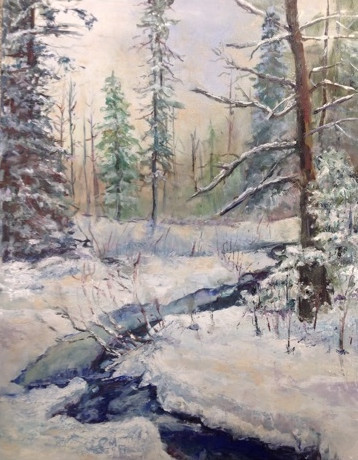 Harolds Trail Creek Painted-Sara Haveman