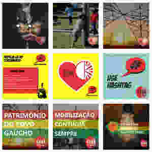 Série de publicações realizadas para CEEE Pública