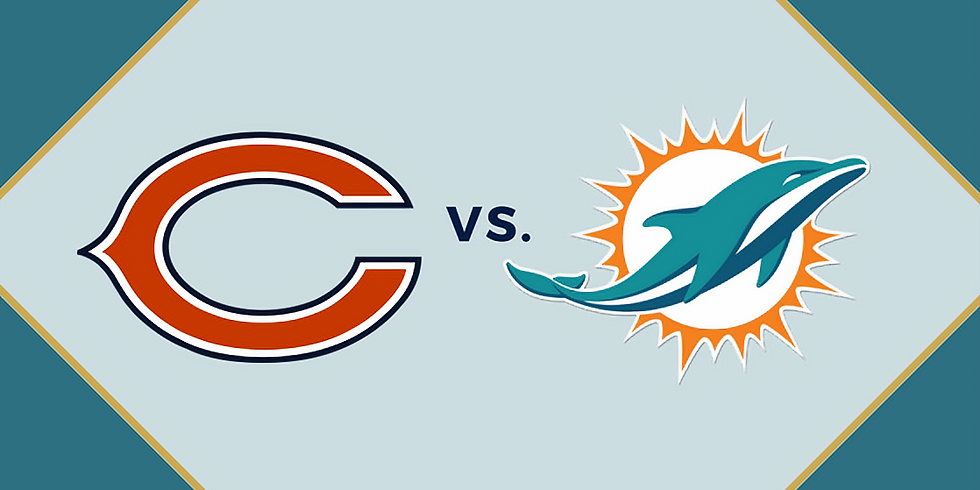 Bears vs. Dolphins Tailgate Party