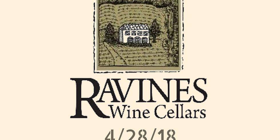Gourmet Wine Dinner with Wine Maker of Ravines Wine Cellars