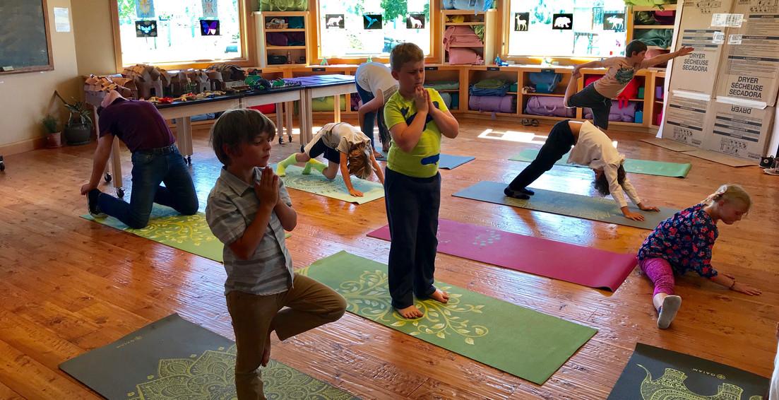 Yoga Demonstration 4