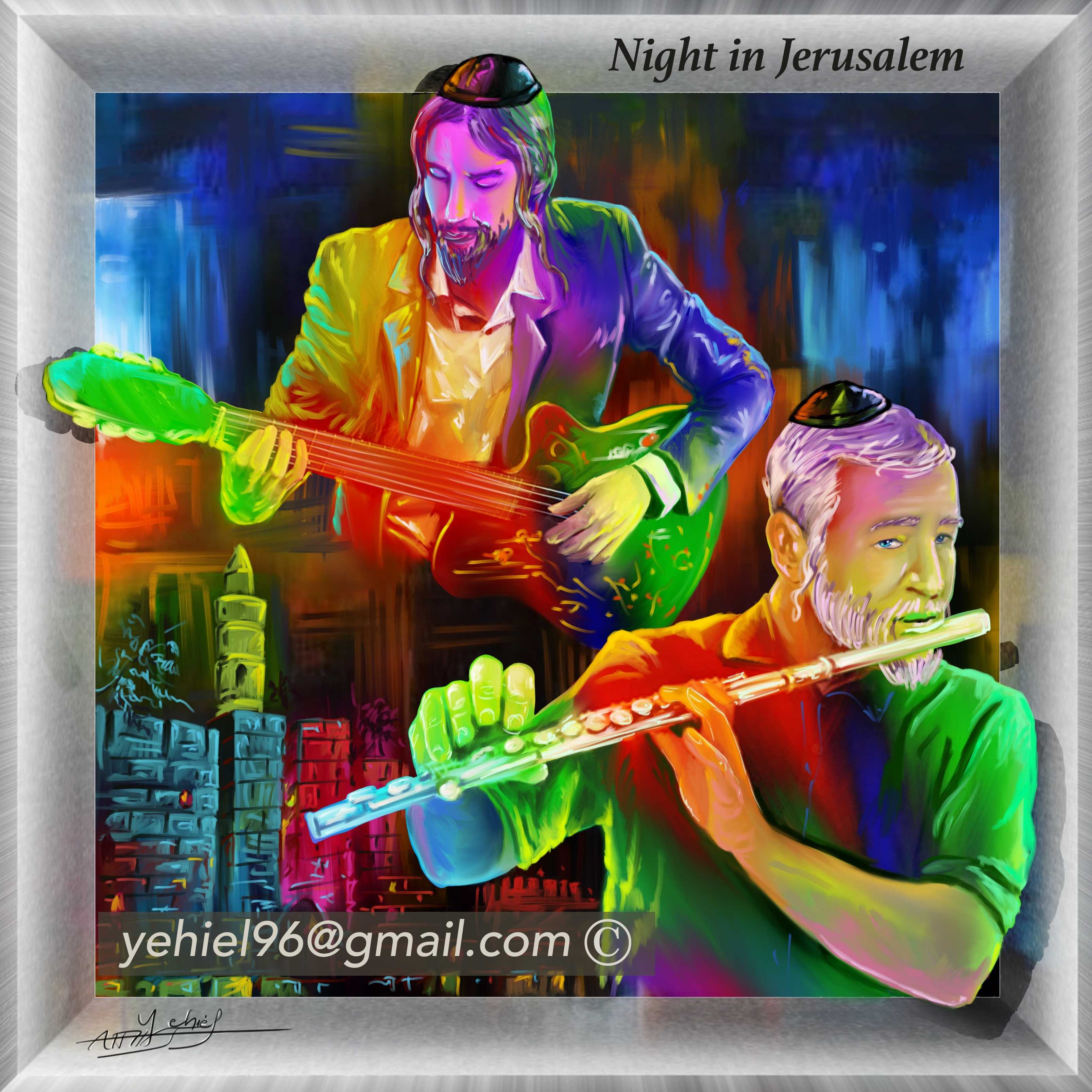 Night in Jerusalem