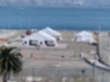 COVID-19 Testing Center on Pier 30-32 SF