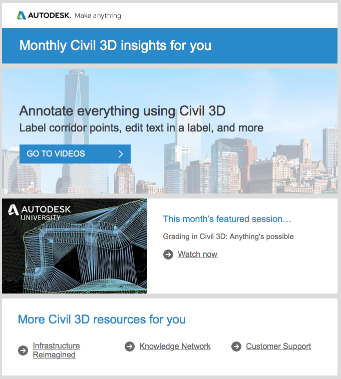 Civil 3D - Monthly 6 of 10