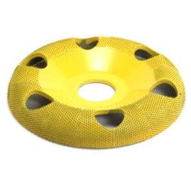 SABURRTOOTH Обдирочный диск выпуклый финишный с отверстиями