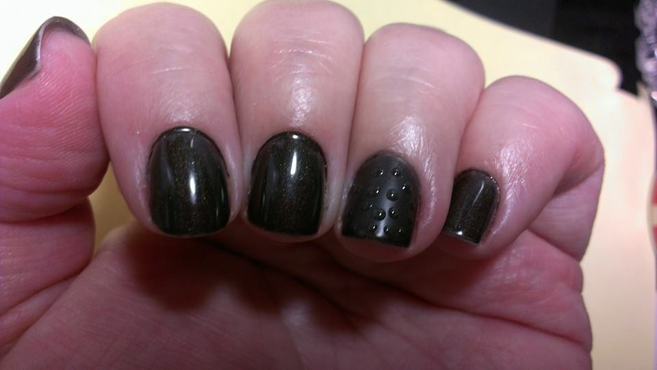 black matte bubbles