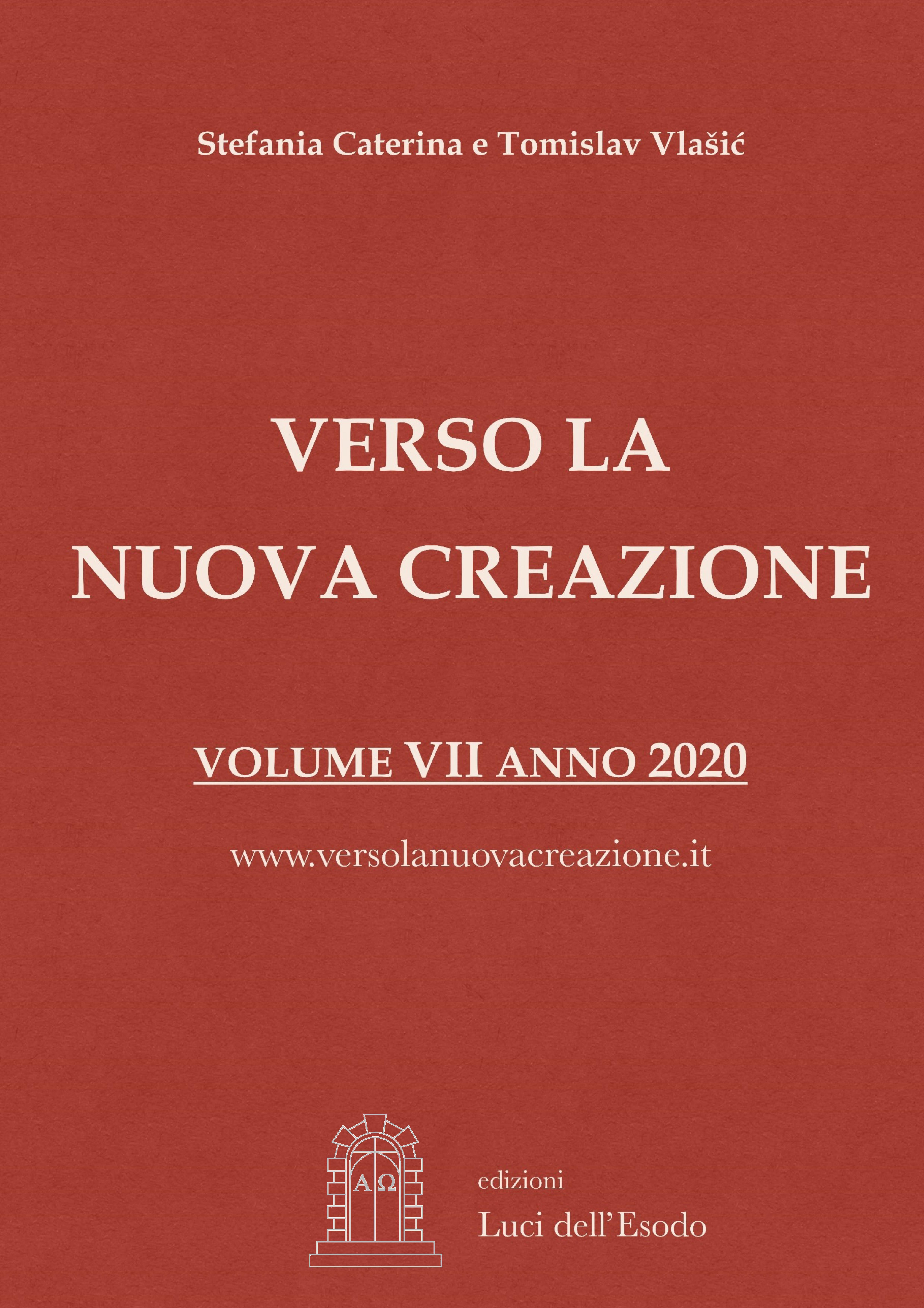 Verso la Nuova Creazione Messaggi 2019 –