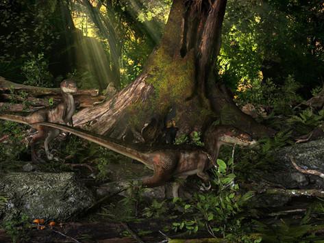 Creating a Jurassic Scene