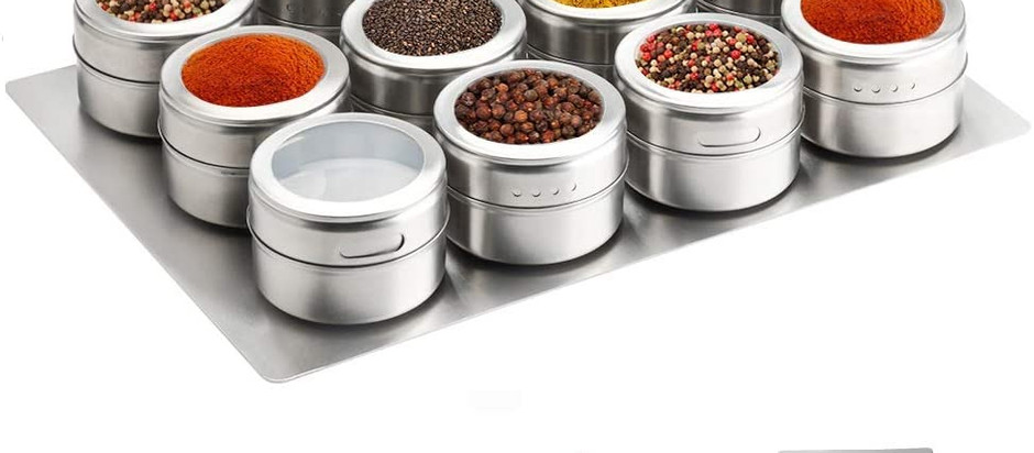 Magnetic Spice Rack On SALE!