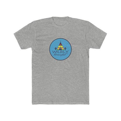 Men's Cotton Crew Tee With Logo