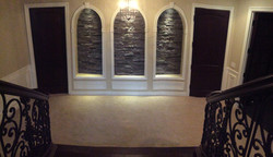 Lower Level Accent Wall
