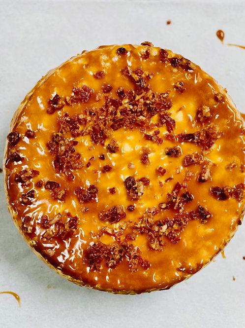 Bacon Maple Bourbon Cheesecake