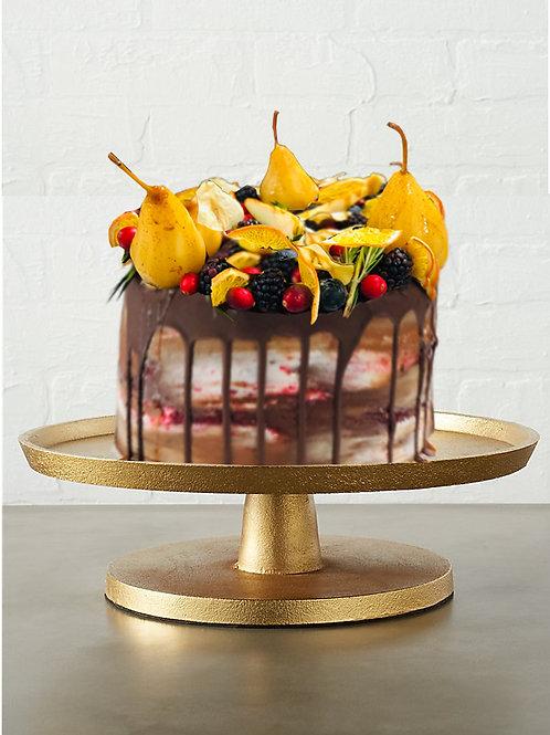 Chocolate Cranberry Orange Spice Cake